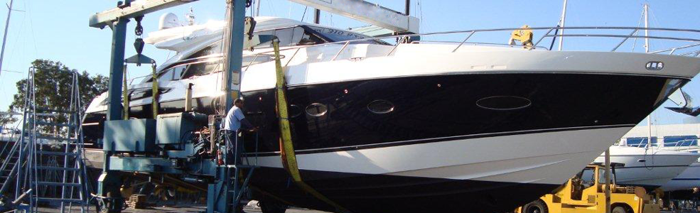 Bottom Painting Boat Repair