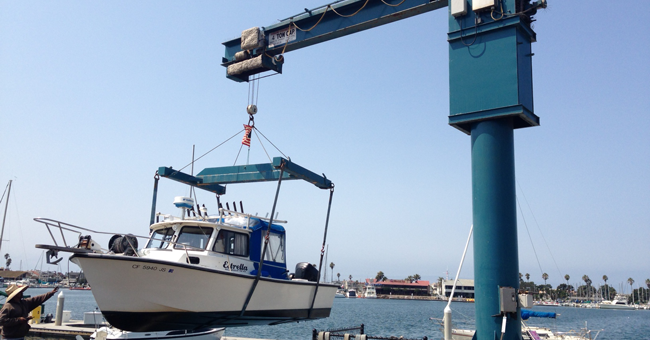 boat yard repair storage oxnard ventura channel islands